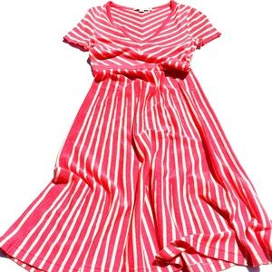 BODEN stretchy summer dress Size 4L.